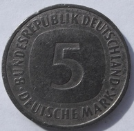 5 Mark 1990 Germany цена - 3$