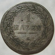 1 Bazen 1810 St.Gallen Swiss 25$
